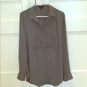 J. Crew Olive Green Button Down Blouse